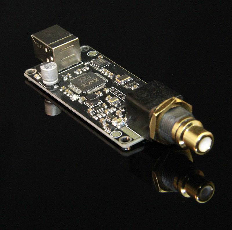 Q-1S数字界面 模块 XU208 最新XMOS USB界面 U8升级版 SPDIF 输出