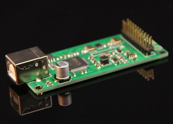 Q-1数字界面 模块 XU208 最新XMOS USB界面 U8升级版