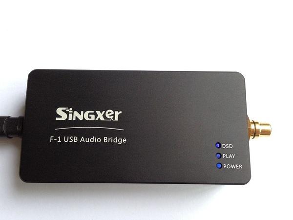 F-1 XMOS XU208 USB数字界面